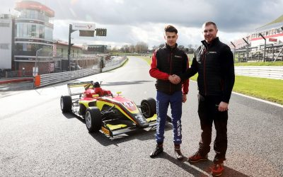 Josh graduates to BRDC British F3 with CDR